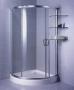 Wyprzedaż Aquaform Kabina Fama półokrągła 100 chrom szkło grigio