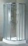 Wyprzedaż Aquaform Kabina Java 80 biała szkło chinchilla